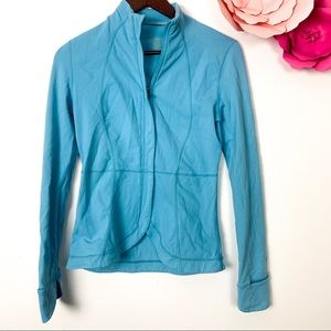 Lululemon baby blue jacket size 4